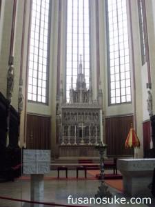 Алтарь в церкви Св. Мартина в Ландсхуте