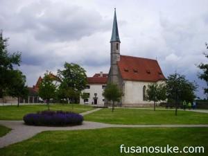 Церковь Ядвиги в замке Бургхаузен