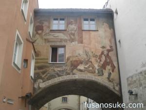Фрески в городе Бургхаузен
