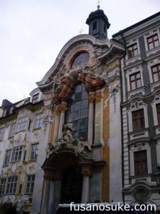 Церковь Св. Иоанна Непомука в Мюнхене