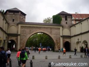 Городские ворота в Мюнхене