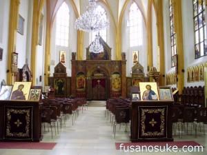 Внутри церкви Св. Сальвадора в Мюнхене