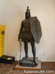 Памятник Генриху Льву в городском музее Мюнхена