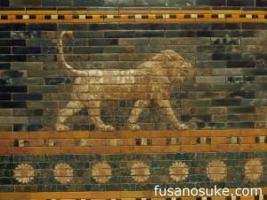 Лев с Дороги Процессий в Вавилоне