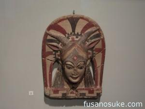 Керамический антефикс эртуской культуры